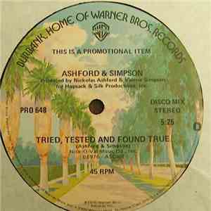 Ashford & Simpson - Tried, Tested And Found True download flac