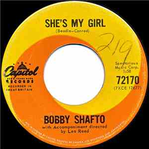 Bobby Shafto - She's My Girl / Wonderful You download flac