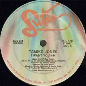Tamiko Jones - I Want You / Tamiko's Groove (Inst.) download flac