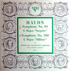 "Haydn - Netherlands Philharmonic Orchestra, Henry Swoboda - Symphony No. 94 In G Major, ""Surprise""; Symphony No. 100 In G Major, ""Military"" download flac"