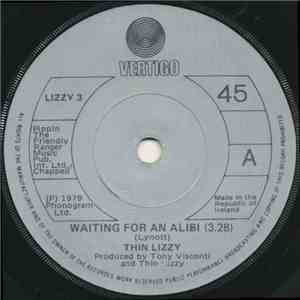 Thin Lizzy - Waiting For An Alibi download flac