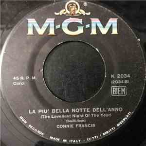 Connie Francis - La Più Bella Notte Dell'Anno download flac