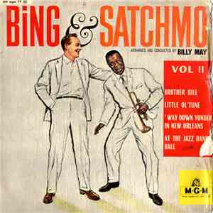 Bing Crosby, Louis Armstrong, Billy May - Bing And Satchmo Vol. 2 download flac