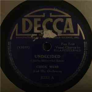 Chick Webb And His Orchestra - Undecided / In The Groove At The Grove download flac