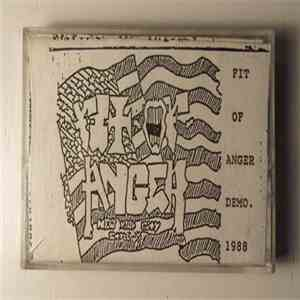 Fit Of Anger - Fit Of Anger Demo. 1988 download flac