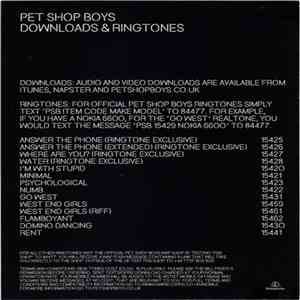 Pet Shop Boys - Answer The Phone download flac