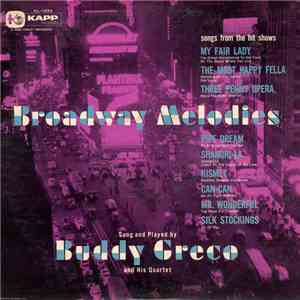 Buddy Greco - Broadway Melodies FLAC album