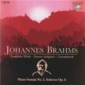 Johannes Brahms - Piano Sonata No. 1, Scherzo Op. 4 download flac