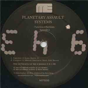 Planetary Assault Systems - Function 4 Remixes Episode 2 download flac