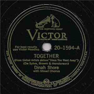 Dinah Shore - Together / I Learned A Lesson I'll Never Forget download flac