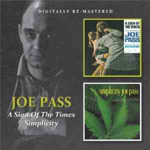 Joe Pass - A Sign Of The Times / Simplicity download flac