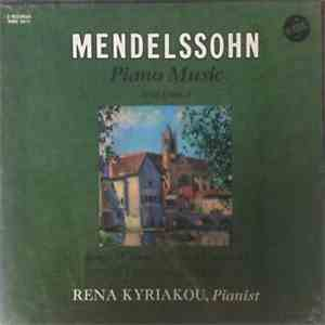 Felix Mendelssohn-Bartholdy - Piano Music Volume I download flac