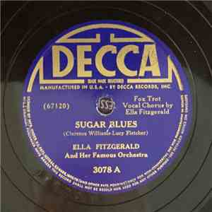 Ella Fitzgerald And Her Famous Orchestra - Sugar Blues / Imagination download flac
