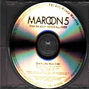 Maroon 5 - Give A Little More download flac