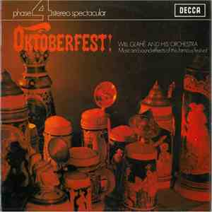 Will Glahé And His Orchestra - Oktoberfest download flac