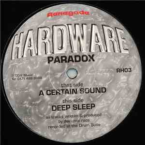 Paradox - A Certain Sound / Deep Sleep FLAC album