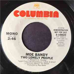 Moe Bandy - Two Lonely People download flac