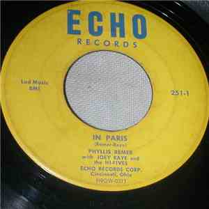 Phyllis Remer With Joey Raye And The Hi-Fives  - In Paris / Why Has My Baby Left Me download flac