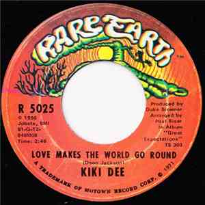 Kiki Dee - Love Makes The World Go Round download flac