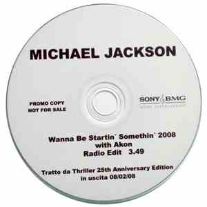 Michael Jackson With Akon - Wanna Be Startin' Somethin' 2008 download flac
