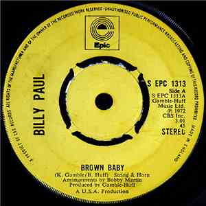 Billy Paul - Brown Baby download flac